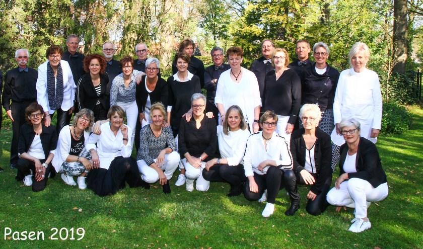 Met een fantastisch repertoire heeft het koor veel nieuwe mensen erbij gekregen