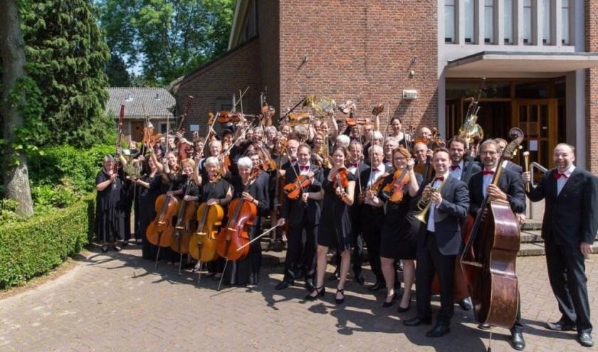 Het orkest Arnhem Sinfoniëtta speelt de bekende zesde symfonie van Beethoven. (foto: Rene Knoop)