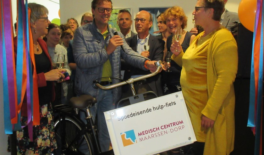 Het Medisch Centrum Maarssen-dorp wordt geopend. Tekst en foto: Ria van Vredendaal