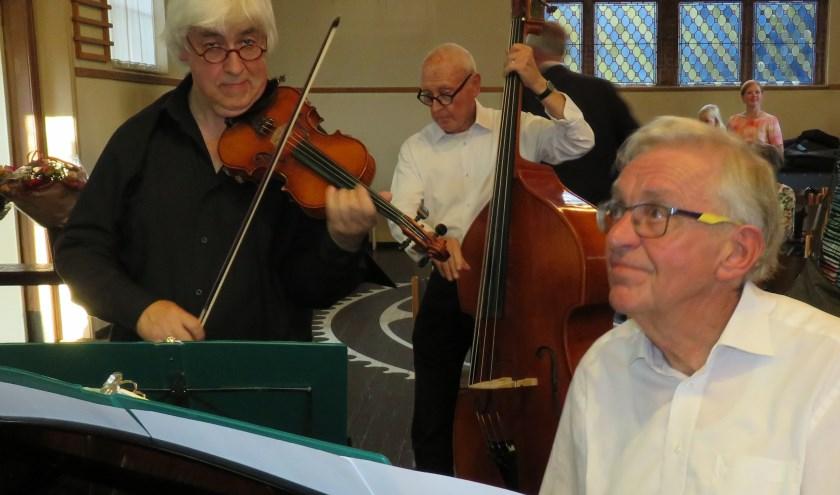 Topartiesten bij het concert van de Sanghertjes