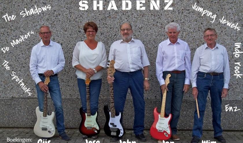 Shadenz bestaat uit zeer ervaren muzikanten die in de jaren '60 en '70 actief waren in diverse bands in de regio.