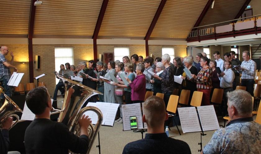 Concordia en project repeteret voor Missa Katharina.