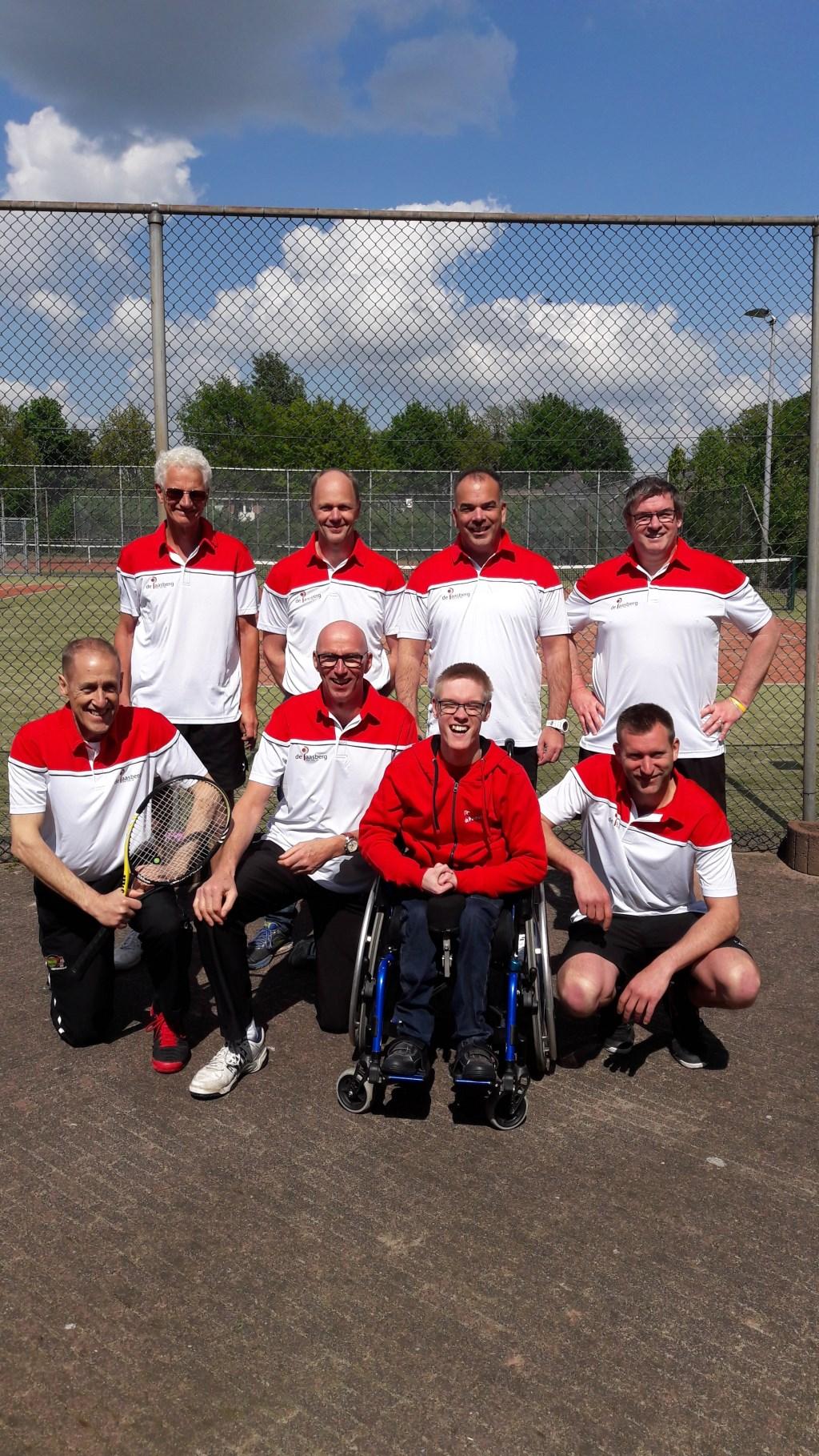 Roy Weening trouwe supporter van LTC DE Paasberg 1  Foto: eigen PR © DPG Media