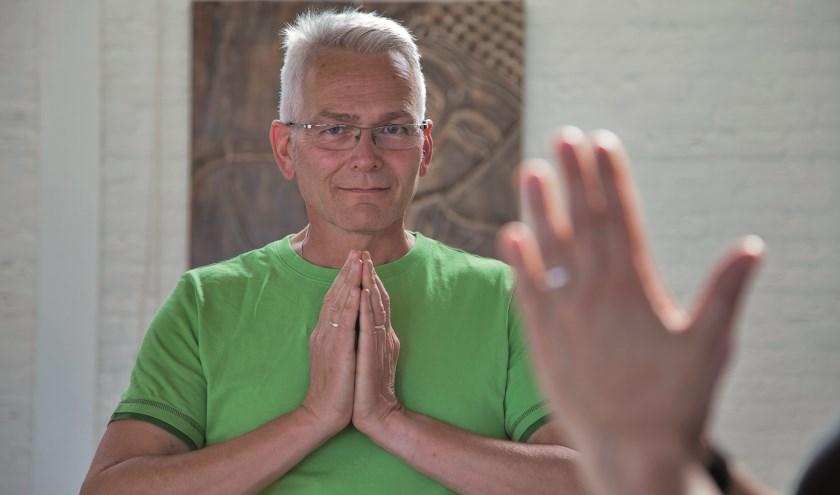 De missie van Peter Haima: mensen helpen zich fitter en meer ontspannen te voelen.