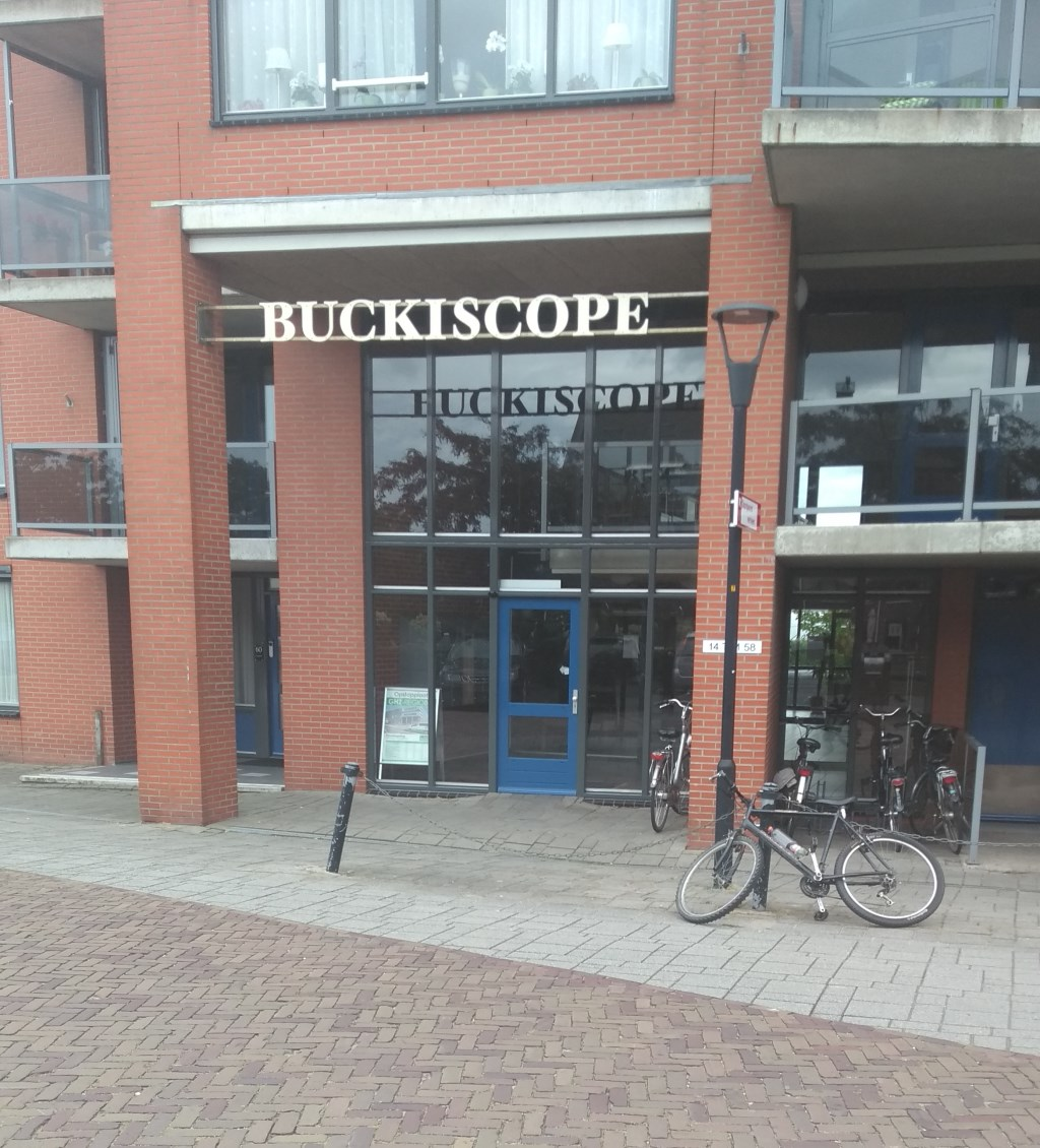 'Buckiscope' herinnert aan de oorsprong van de naam 'Boskoop'.  © DPG Media