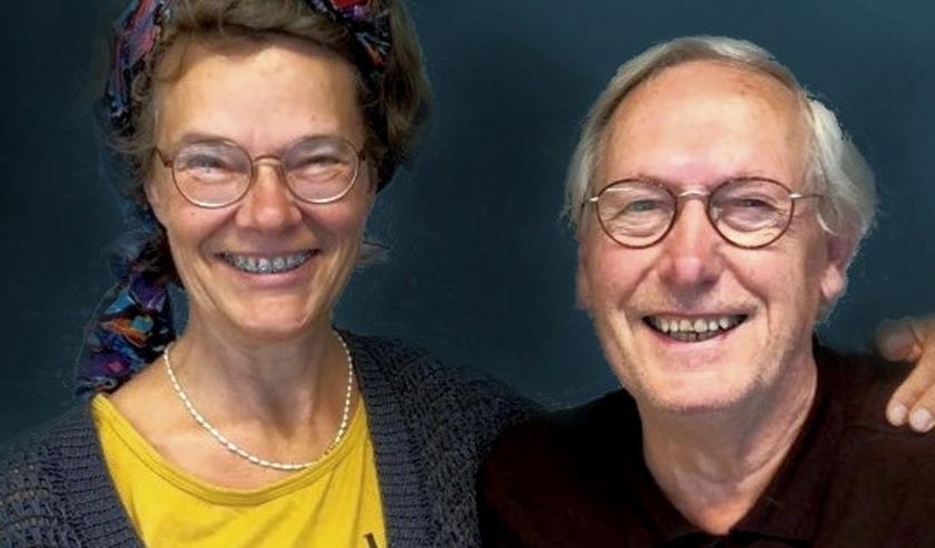 Nicole Pluim en Martinus de Kam inspireren elkaar tot mooie projecten (foto Machteld Smid)