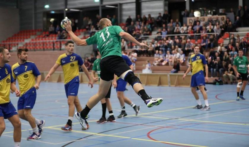 Tachos, hier op archieffoto, heeft de eerste Brabantse derby in de Eredivisie met 19-26 gewonnen.