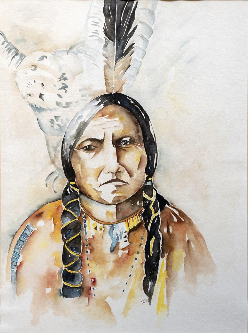 De indiaan Foto: Hans Hendriks © DPG Media
