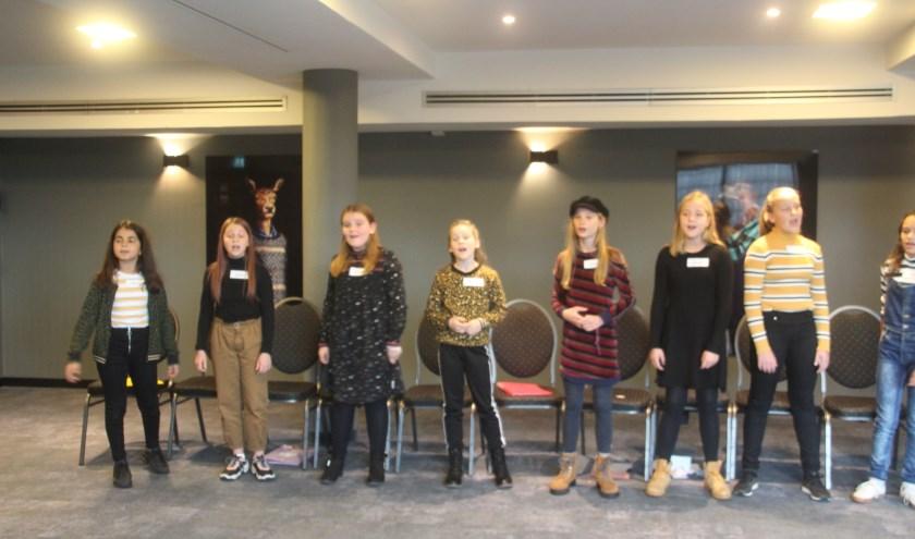 Meisjes in de leeftijd van 7 t/m 13 jaar deden auditie voor 'Het Meisje met de Zwavelstokjes'
