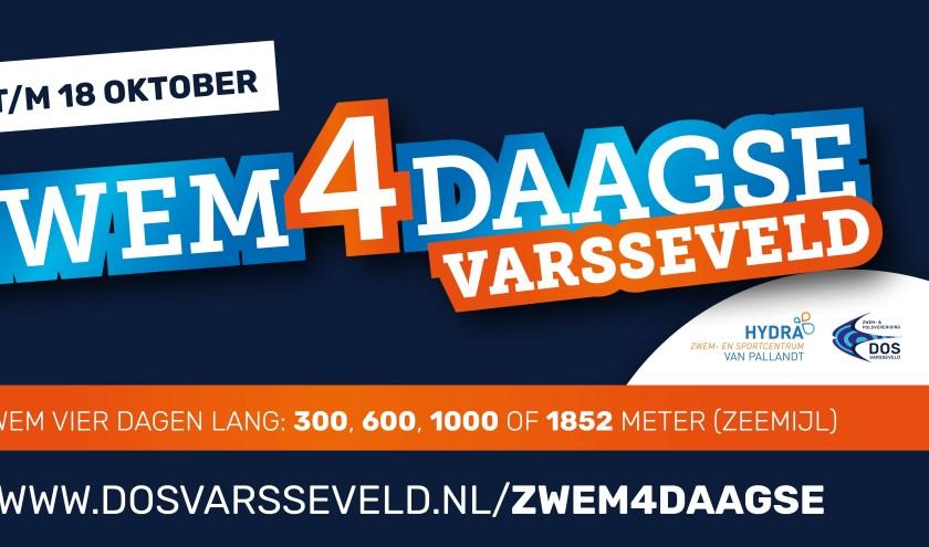 Aankondiging Zwem4daagse Varsseveld