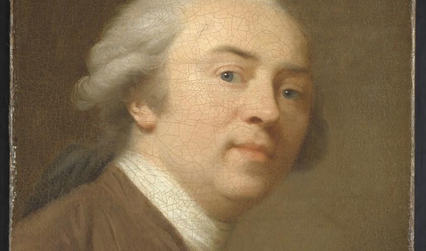 J.F.A. Tischbein, Zelfportret, 1782, olieverf op doek, Rijksmuseum, Amsterdam