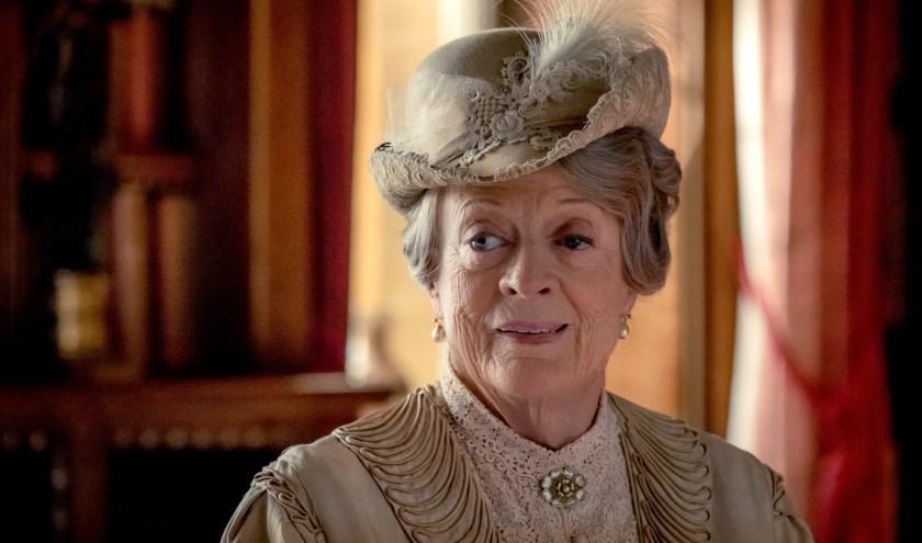 De Britse filmdiva Maggie Smith in Downton Abbey, de openingsfilm van het vierdaagse festival.