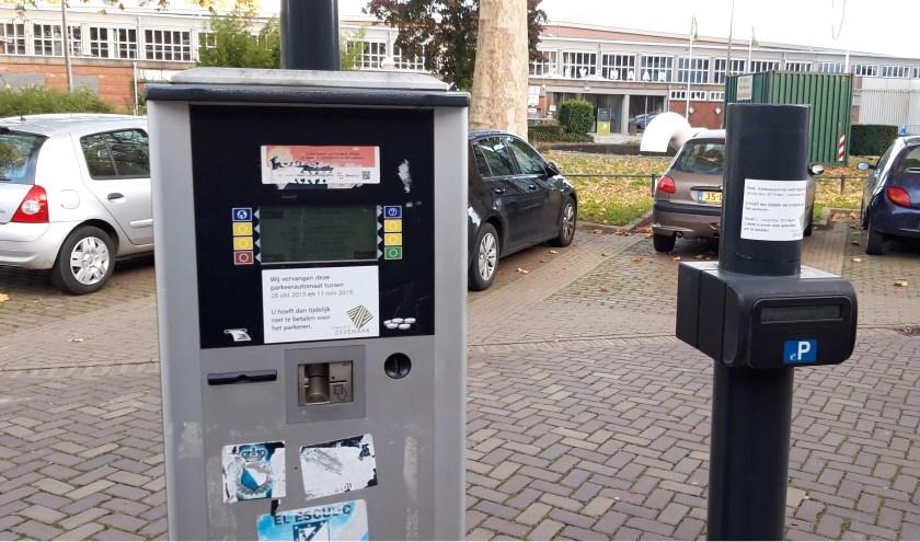 Je hoeft voorlopig niet te betalen voor parkeren in het centrum. (foto: Danny van der Kracht)
