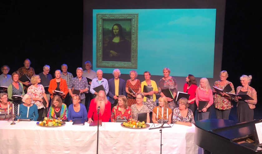 In de voorstelling gaat het koor op zoek naar de veelzijdigheid van Leonardo Da Vinci.