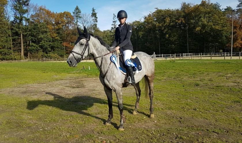 Charena Zandbergen & haar paard Iregina Elton
