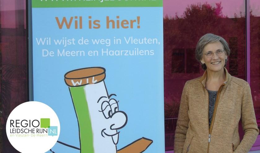 Irene Franssen bij telefoondienst WIL.