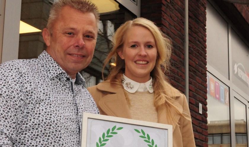 De eerste winnaar is Reparatiewinkel van Jan en Louise Post in de Achterdoelen.