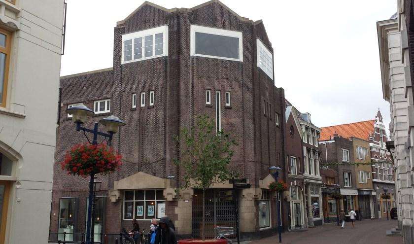 De voormalige bioscoop Monopole lijkt deel uit te gaan maken van het Stedelijk Museum Schiedam.