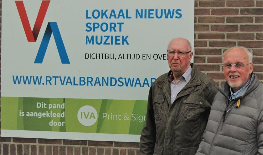 Jan Jongerius en Erwin de Jongh van RTV Albrandswaard vertellen over verleden, heden en toekomst van de lokale radio- en tv zender.