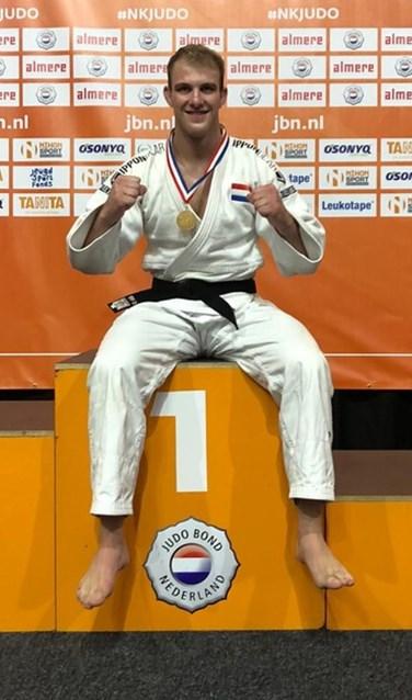Op de NK Judo in Almere heeft judoka Jelle Snippe (-100 kg) zijn eerste nationale seniorentitel weten te behalen.
