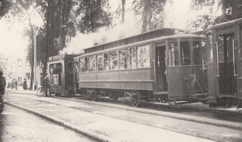De tram in het Kalverbos