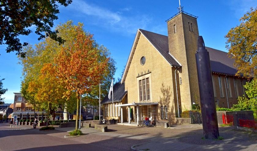 De aula krijgt hoe dan ook een belangrijke hoofdrol in nieuwe culturele activiteiten in de stad (foto Jan Boer)