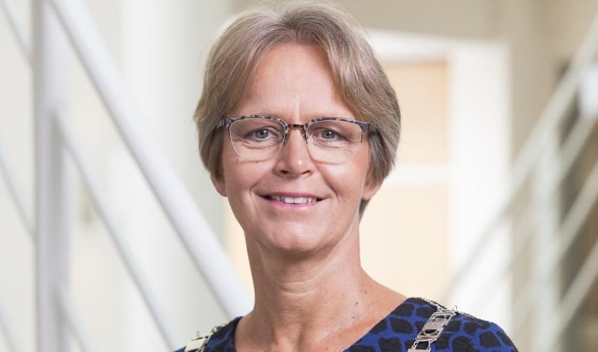 Burgemeester Yvonne van Mastrigt. Foto: gemeente Stichtse Vecht/Norbert Waalboer Fotografie