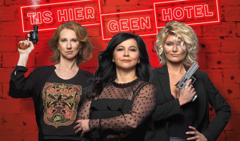 Dianne Liesker, Ellen Dikker en Hanneke Drenth duiken in de wereld van pubers. (foto: Govert de Roos)