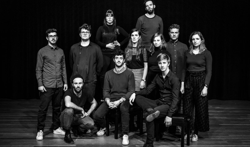 Het 11-koppige Large Ensemble van saxofoniste Kika Sprangers