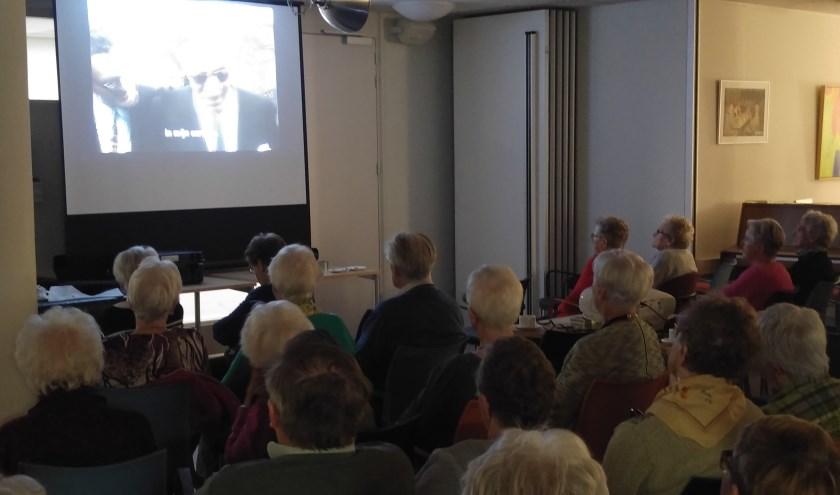filmvertoning bij Senioren Belangen