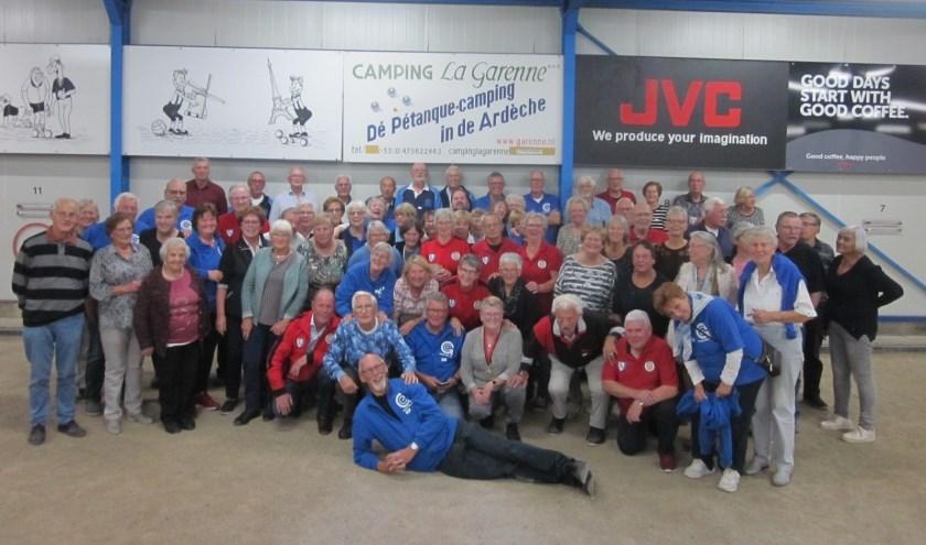 Alle deelnemers na afloop op de foto.