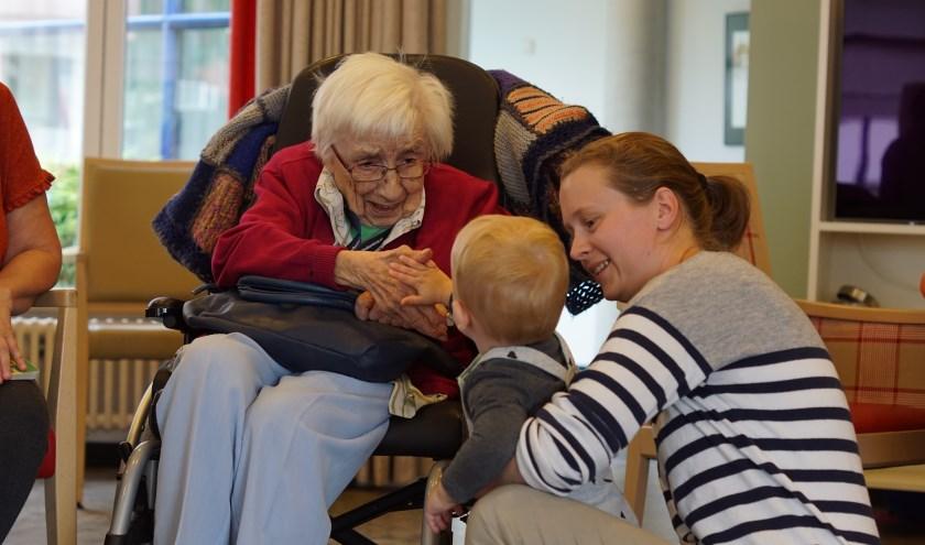 Kopje Geluk is elke derde woensdag van de maand bij woonzorgcentrum De Wielewaal in Zaltbommel.