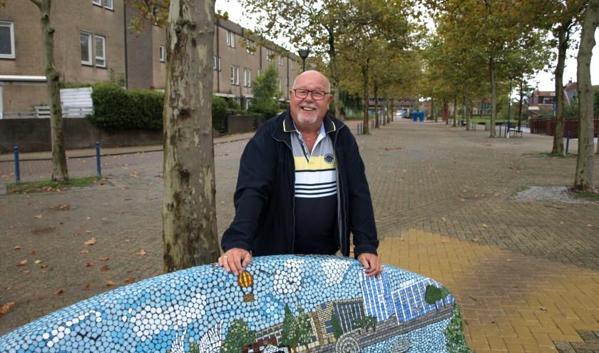 Organisatietalent Ed Boutkan zet zich al 25 jaar in voor kunst in Zoetermeer. Hij staat aan de wieg van de kunstorganisatie Terra Art Projects. Reden genoeg voor een gesprek. Foto: Simone Langeveld
