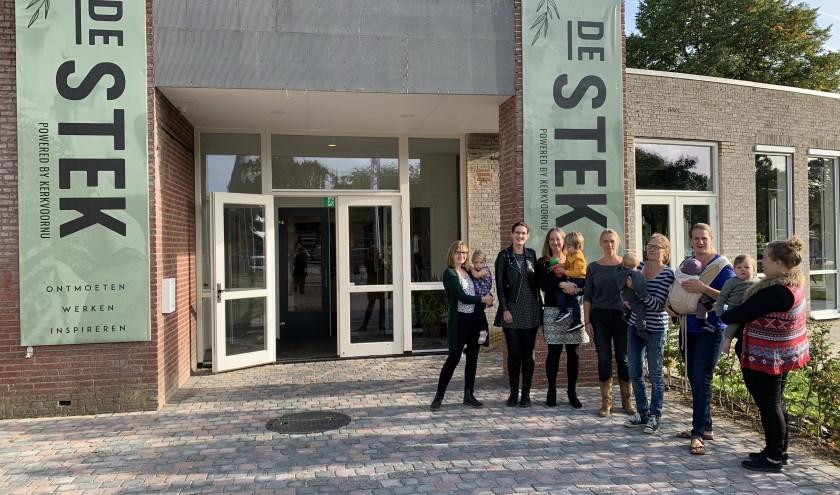 De entree van De Stek in Duiven. In de thuishaven van KerkvoorNu wordt op 9 oktober een inloopochtend gehouden in het kader van de Week van de Opvoeding.