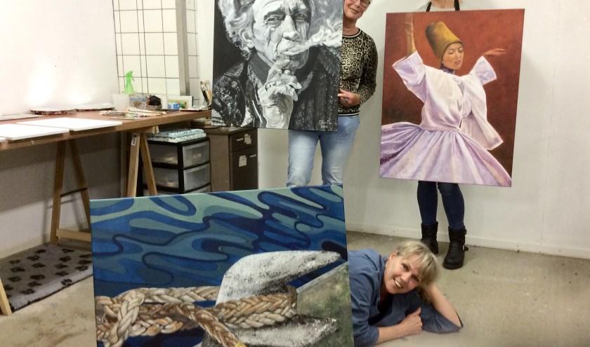 Kunstenaars van het Vrije Atelier Epe