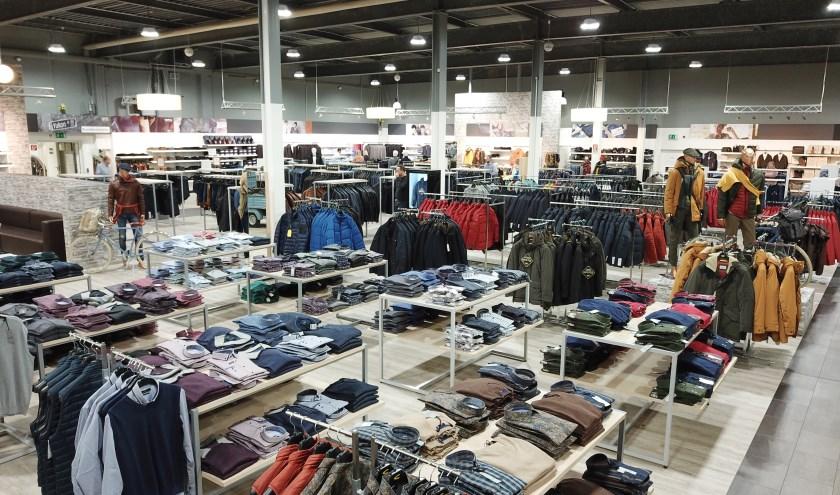 Bültel Outlet Stores in Salzbergen is liefst 1000 vierkante meter groot.