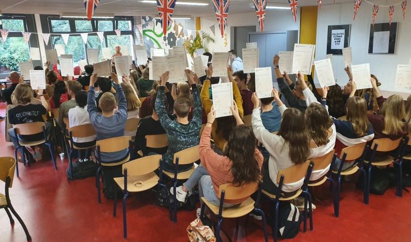 Oosterlicht-leerlingen blij met certificaten Cambridge English