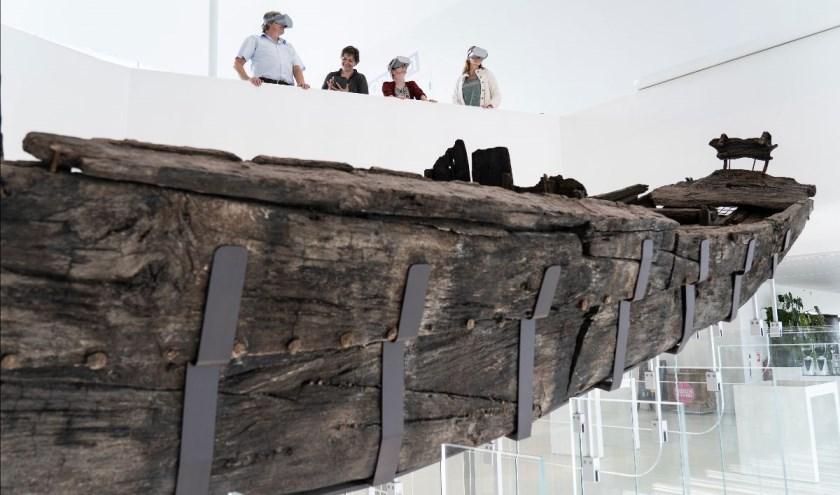 Maak een 3D rondreis op het Romeinse schip!