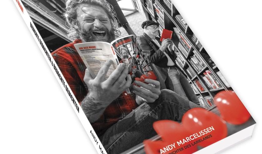 De cover van het nieuwe gedichtenboekje van Andy Marcelissen