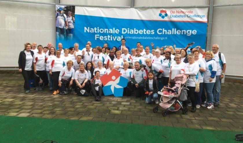Groepsfoto diabetes challenge.