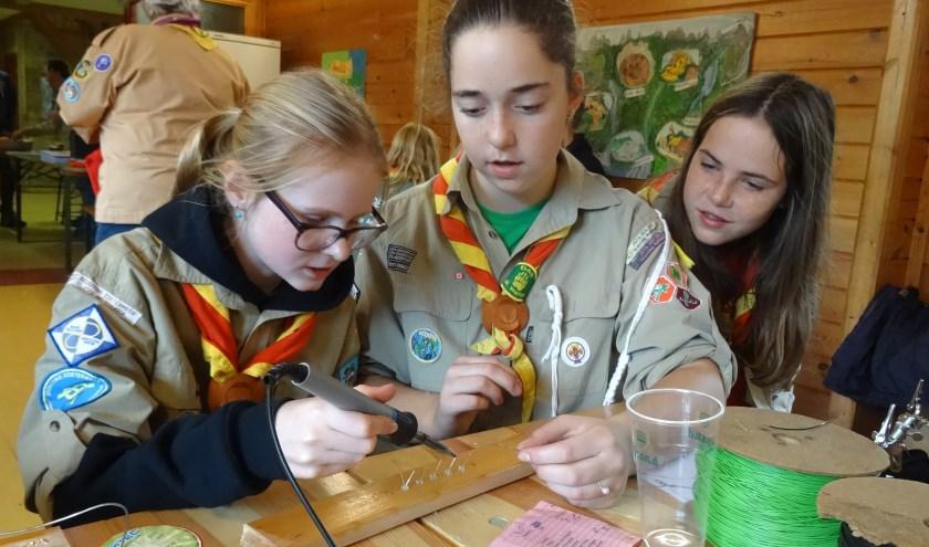Scouts actief met techniek en communicatie tijdens JOTA
