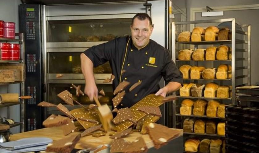 """Wery Hugen: """"Vorig jaar is ons speculaas door het Bakkerijcentrum bekroond met een gouden predicaat."""""""