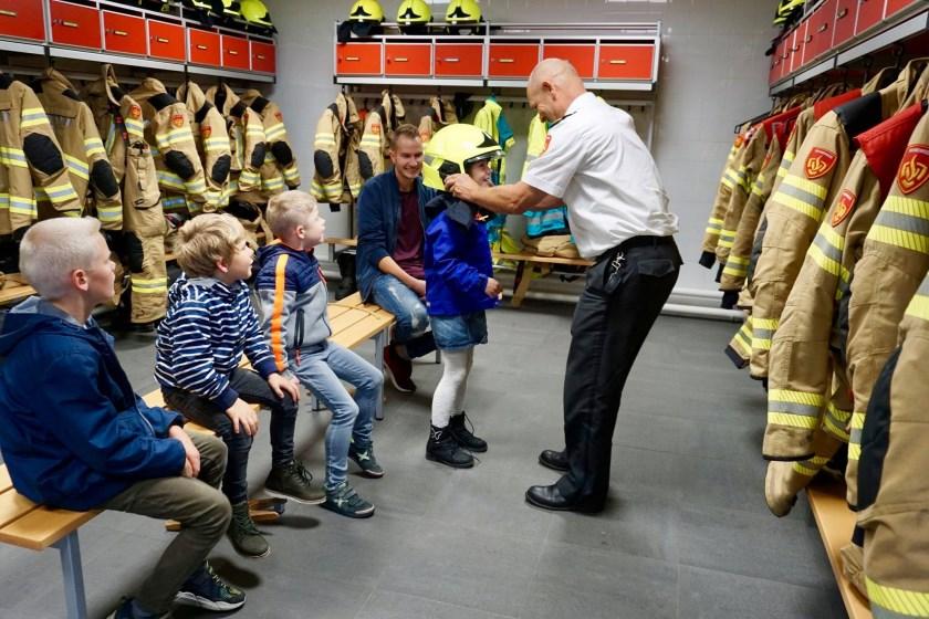 Met Wereldwijs op bezoek bij de brandweer.