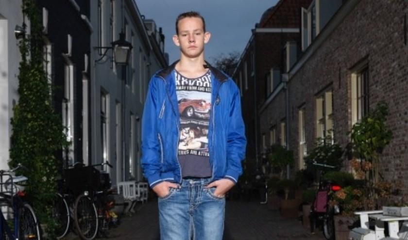 Mitchell, één van de Utrechtse kinderen die is gevolgd. Foto: Rob Hornstra