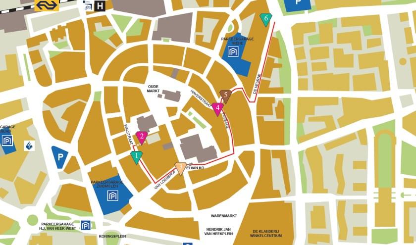 Net als voorgaande jaren zal er in Enschede weer een route zijn langs de deelnemende juweliers, galeries en goudsmeden.