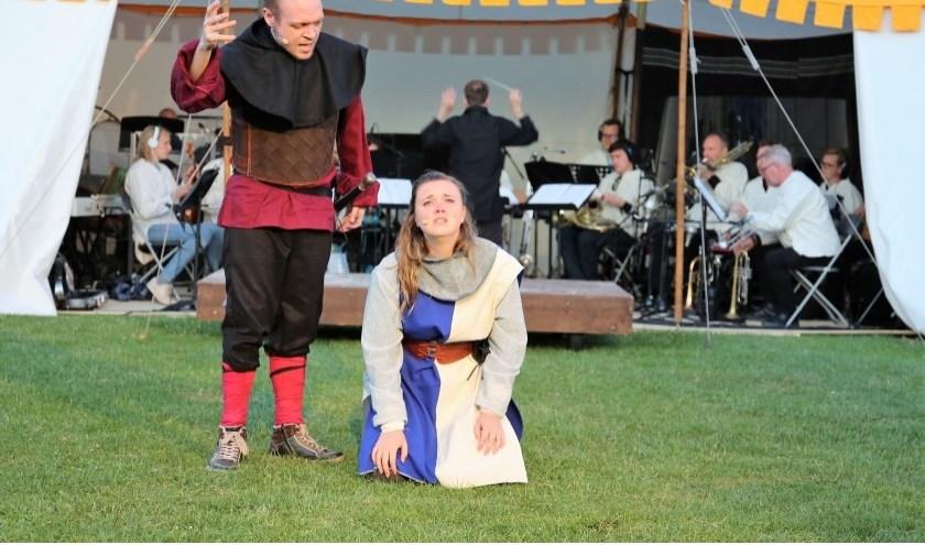 Jeanne d'Arc de laatste voorstelling in het Buytenpark. Foto: Archief Streekblad