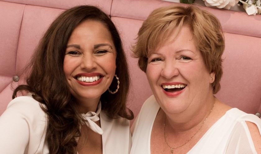 Sprekers Yolanda Bikker en Maleka Bent Jamaa