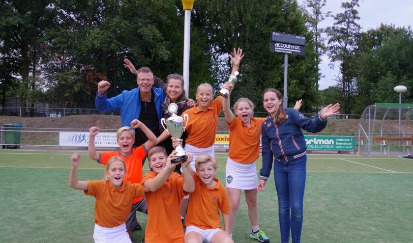 Het winnende team groep 7/8 A-poule, Wilhelminaschool