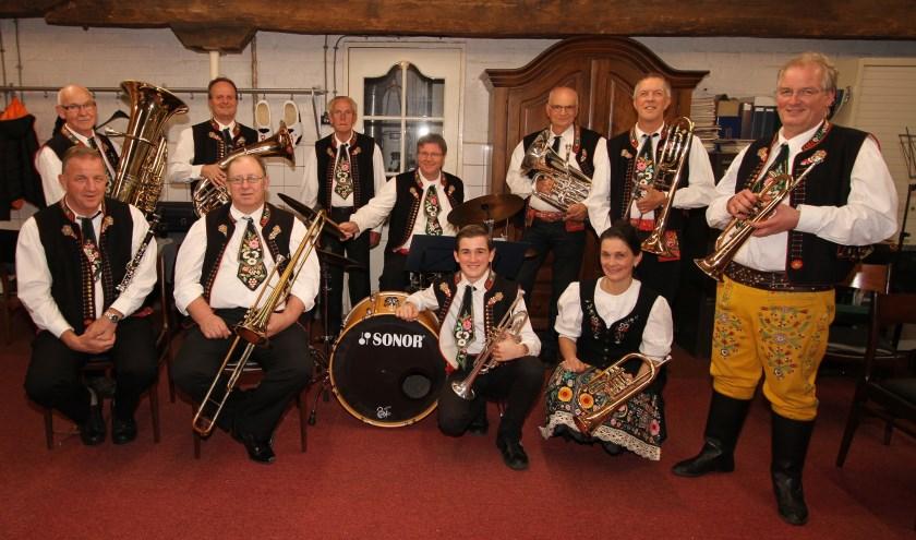 Die Stall-Freunde maken al dertig jaar met veel plezier muziek. (Foto: Ad Adriaans).