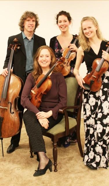 Vespucci Kwartet treedt op in het Van Cappellenhuis.